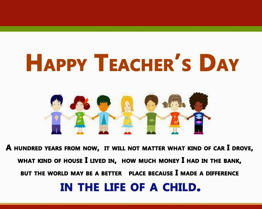 Pictures Of Teachers Day Message From Students Kidskunstfo