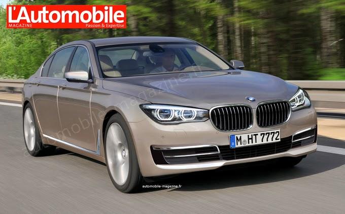 BMW serie 7 2016 REVELADO