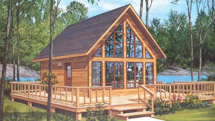 Prefab homes and modular homes in canada modulex for A frame house kits cost