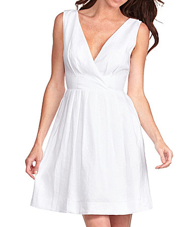 BB Dakota Annaliese White Sleeveless Dress