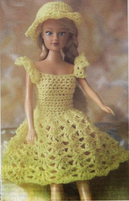 Нарядный комплект для куклы