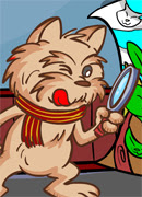 Собачка детектив - Онлайн игра для девочек