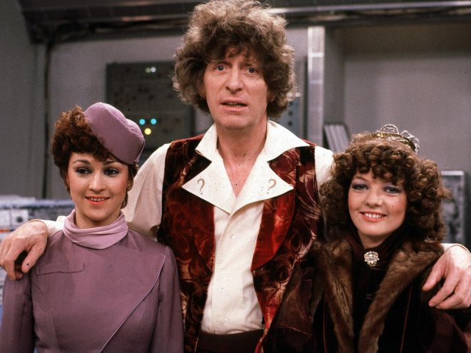 Tegan, The Doctor and Nyssa