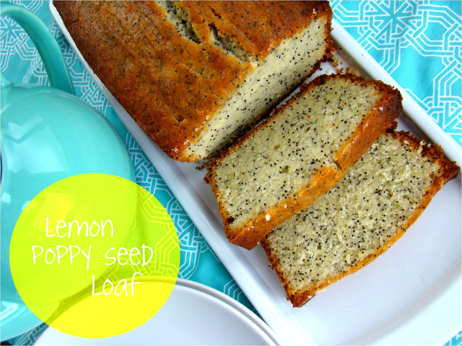 lemon poppy cake the party edition