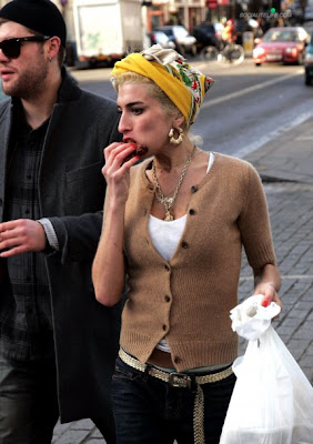amy winehouse eating