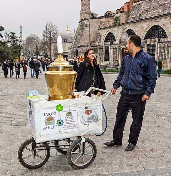 Topkapi Palace: Official Sahlep Seller to the Sultan