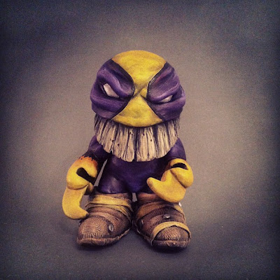 The Maxx Custom Munny Vinyl Figure by Shadoe Delgado