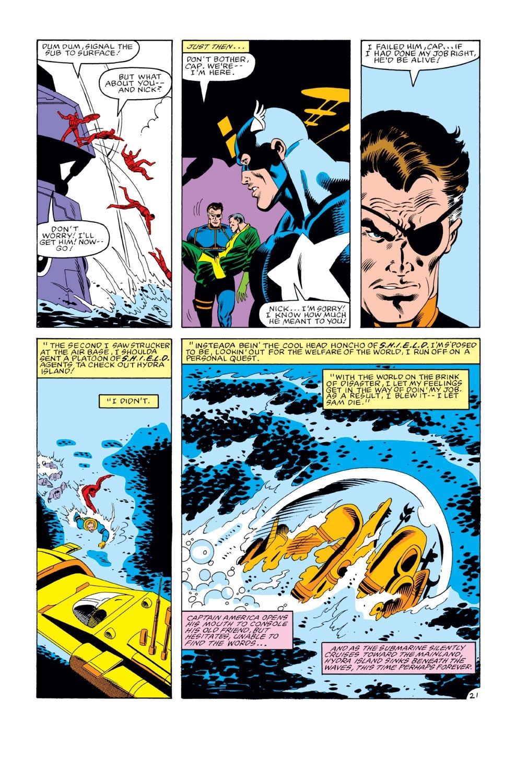 Captain America (1968) Issue #274 #190 - English 22