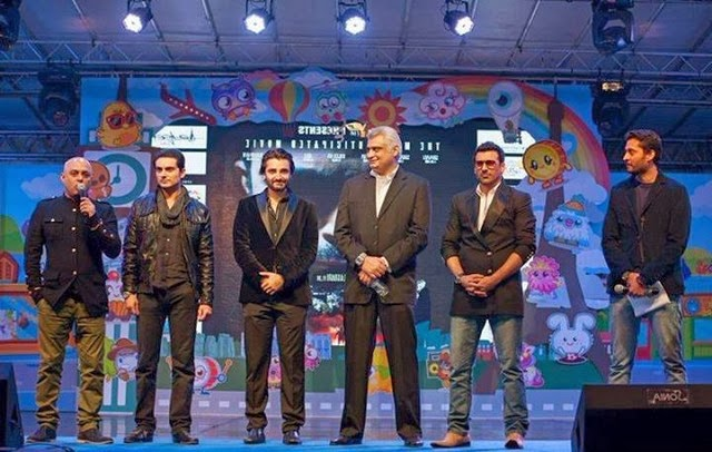 Pakistani WAAR Movie Press Conference in Dubai Images