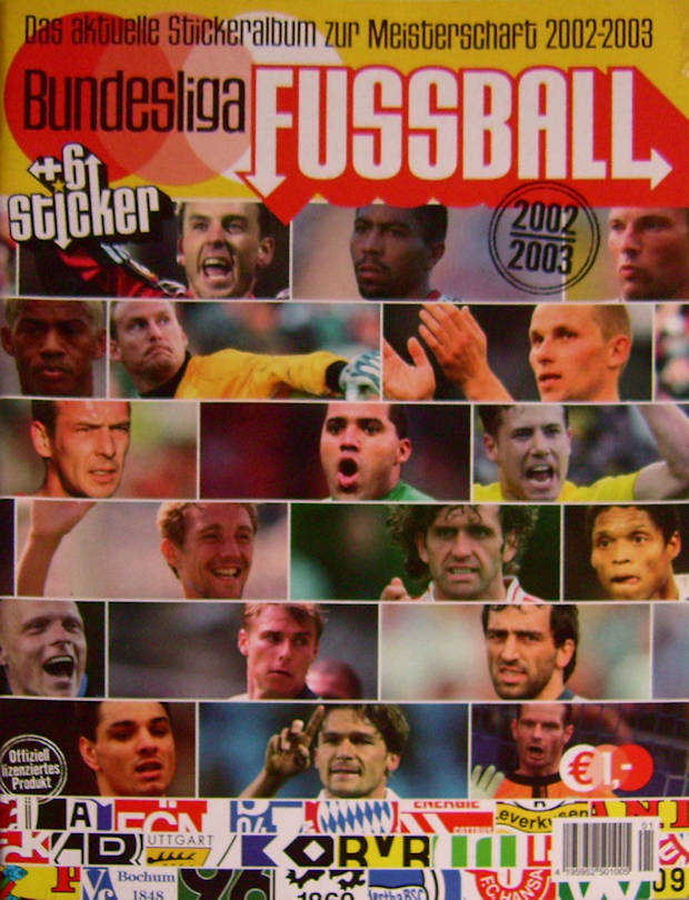 Panini 321 BL Fussball 2001 Oliver Neuville Bayer Leverkusen