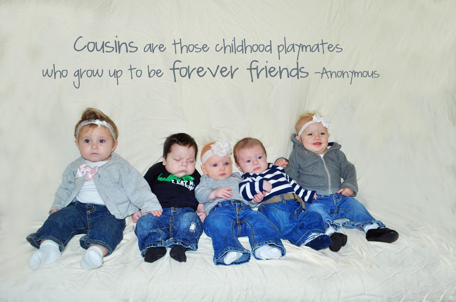 Tenney family five cousins born in one year