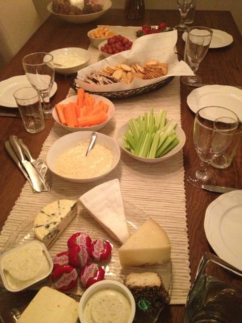 ost kjeks og vinkveld