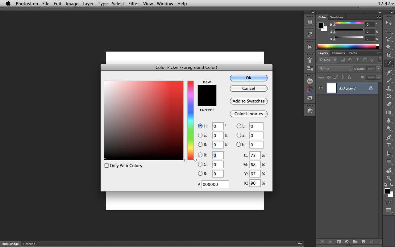 Photoshop Color Picker - Bing images