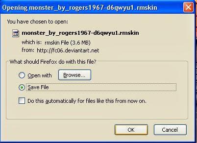 pop up cara download di deviant art 2