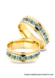 alianzas cruzadas con piedras preciosas