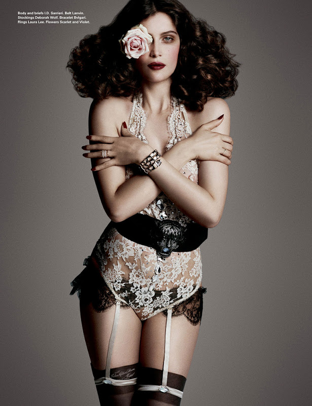 Laetitia Casta by Daniele Duella & Iango Henzi for i-D Winter 2012