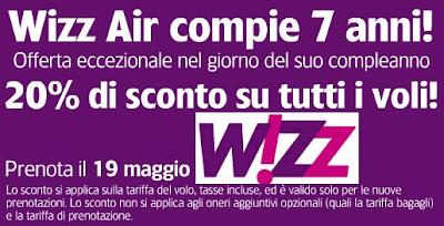 offerta Wizzair