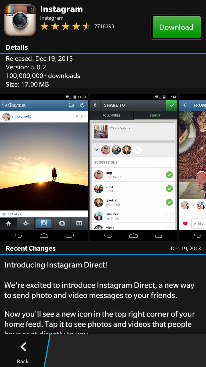 Cara Install Aplikasi Android di Ponsel Blackberry