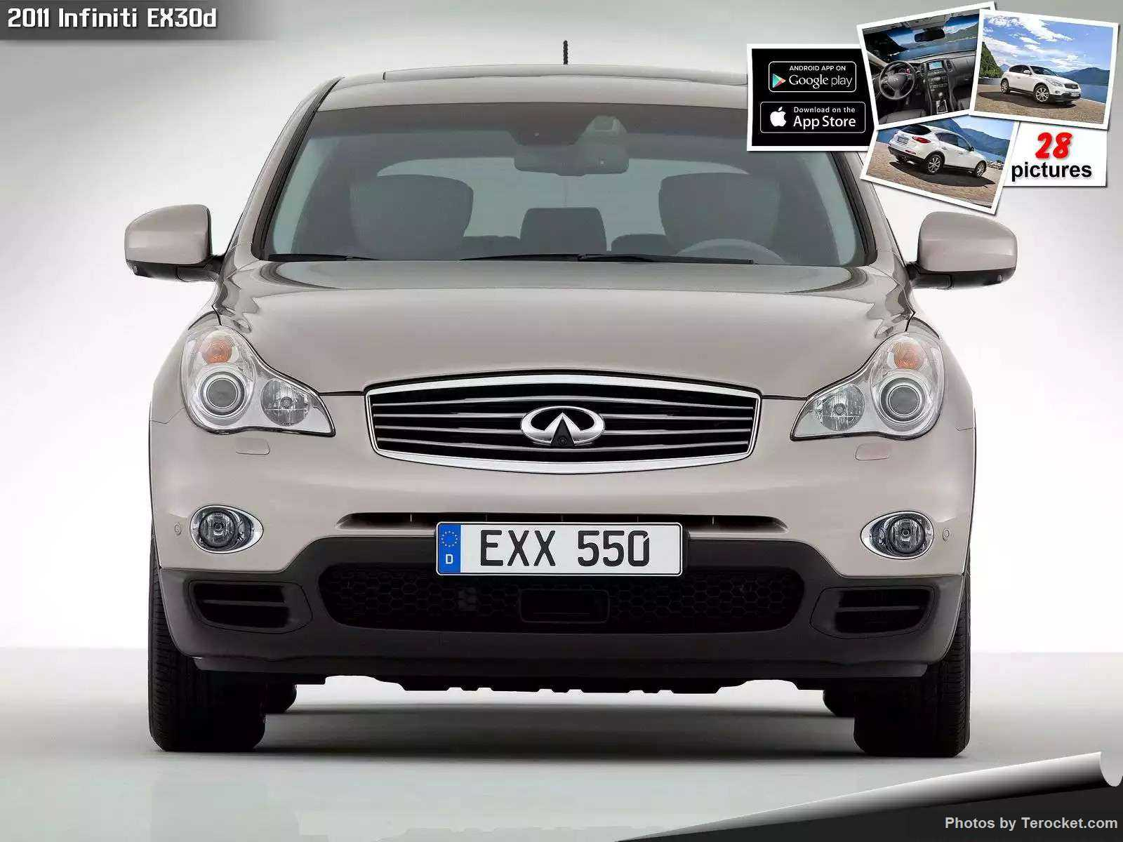 Hình ảnh xe ô tô Infiniti EX30d 2011 & nội ngoại thất