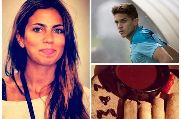 Melissa Jimenez Jurnalis Cantik Kekasih Baru Marc Bartra