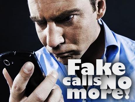 No More Fake Calls