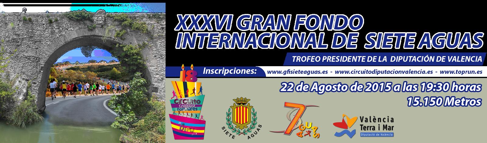 GRAN FONDO INTERNACIONAL DE SIETE AGUAS