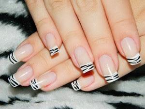 modelos de unhas decoradas zebra