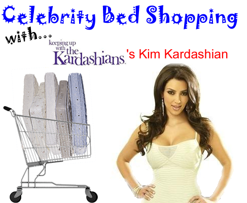 Memory Foam Mattress Celebrity Bed Shopping With Kim Kardashian