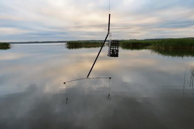 Снасть для ловли карпа на озере Яу-Балык