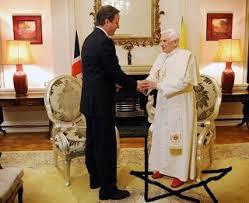 Pope in pentagram