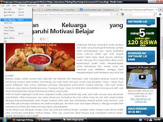 Cara Mendownload Halaman Web/Blog yang Klik Kanannya di Disable