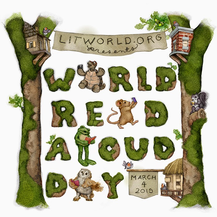 World Read Aloud Day 2015 Logo