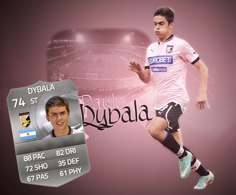 Híbrido de plata Liga BBVA - Serie A Vietto - Dybala FIFA 15 Ultimate Team, Hybrid Vietto - Dybala FUT 15