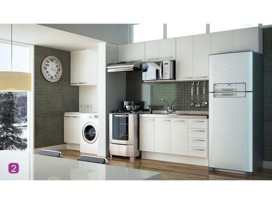 decoracao cozinha e area de servico integradas:Samara Pinheiro: Área de Serviço Decorada