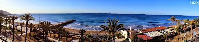Vistas al mar desde la Habitación del Hotel Calípolis Sitges