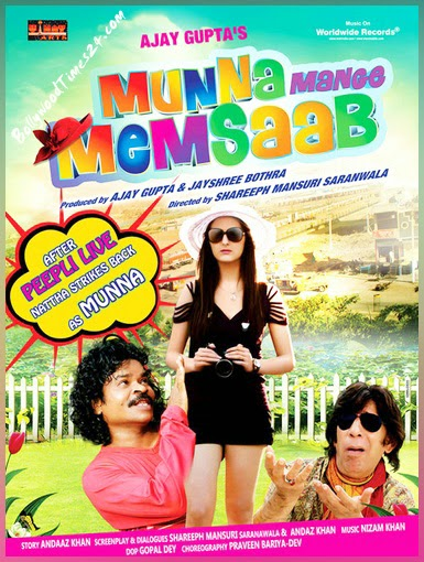 Munna Mange Memsaab (2014) Hindi Full Movie Poster