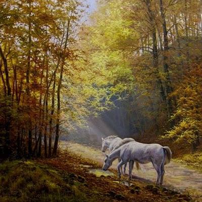 caballos-al-oleo-pinturas