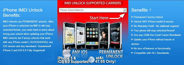 Benefits of this Unlock iPhone 5 via IMEI
