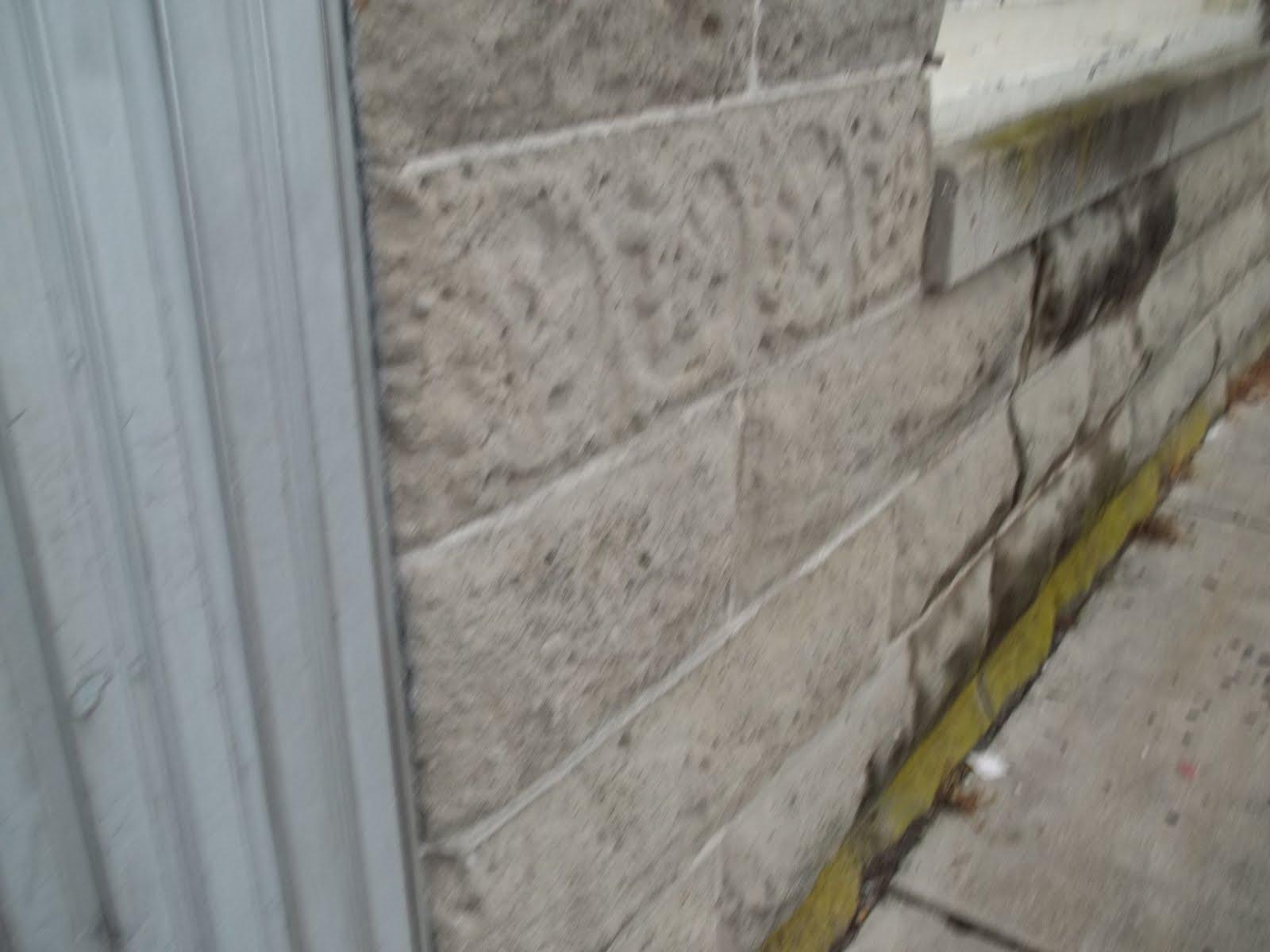 Stone Face Concrete Blocks : Delmar historical and art society molded concrete block