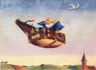 Cerita Rakyat Bahasa Inggris -  THE FLYING TRUNK