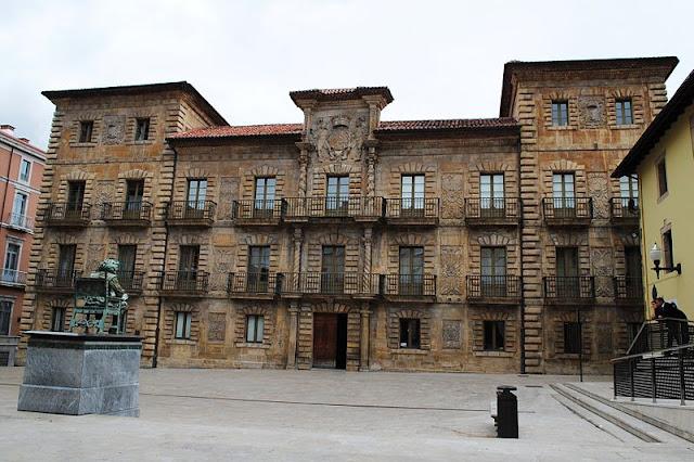 Patrimonio arquitect nico de asturias palacio de camposagrado en aviles arquitecto menendez - Arquitectos aviles ...