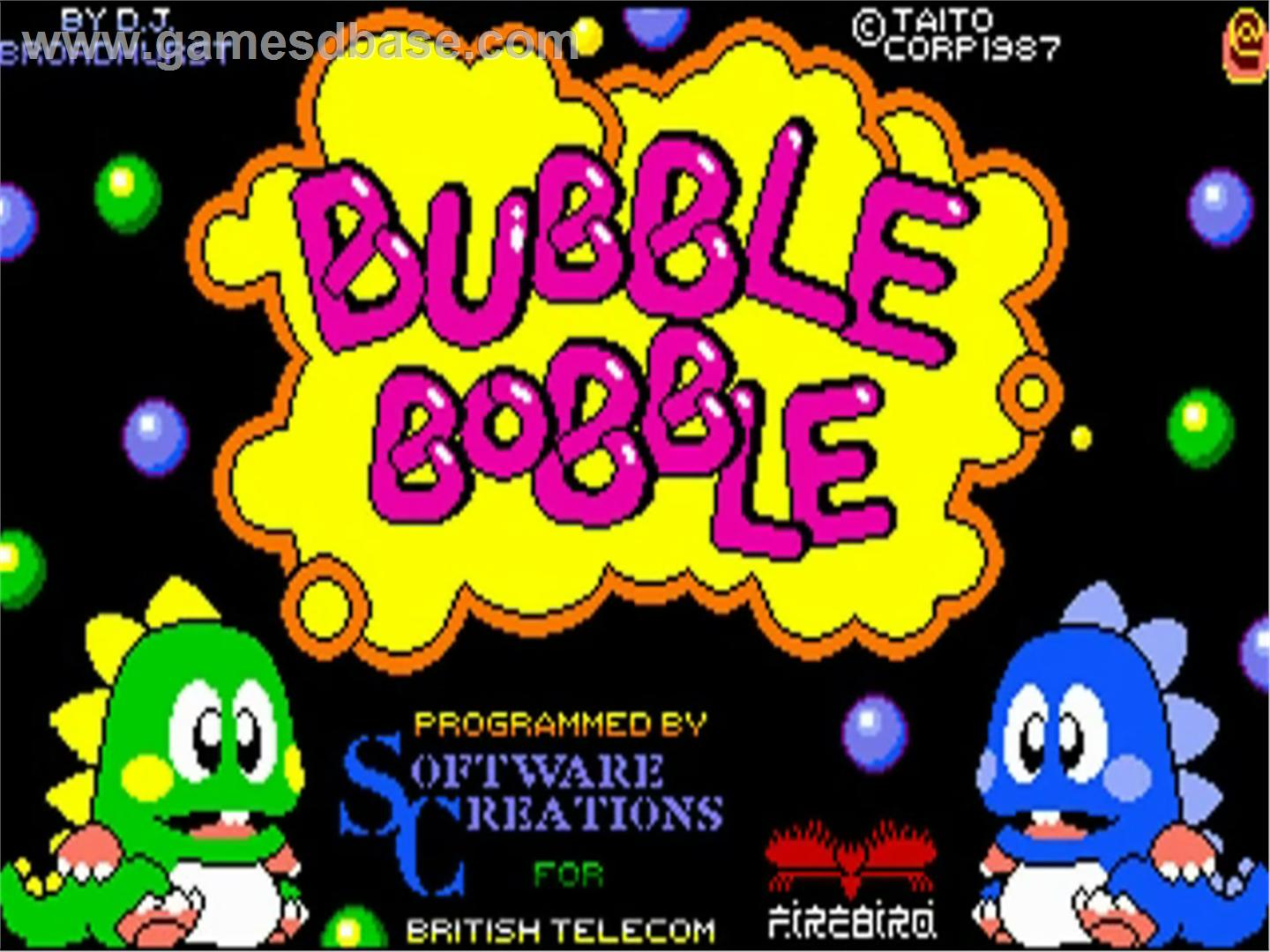 buble games