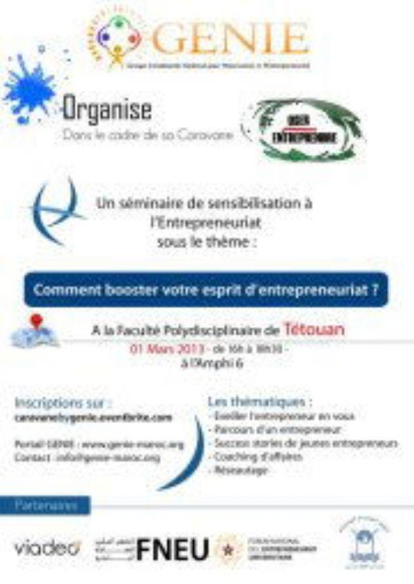 La facultad Pluridisciplinar de Tetuán acoge la caravana 'Oser Entreprendre'