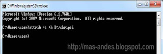 Mengunci dan Menyembunyikan Folder Menggunakan CMD (Command Prompt)