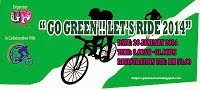 Go Green!!!Let's Ride 2014 - 26 January 2014