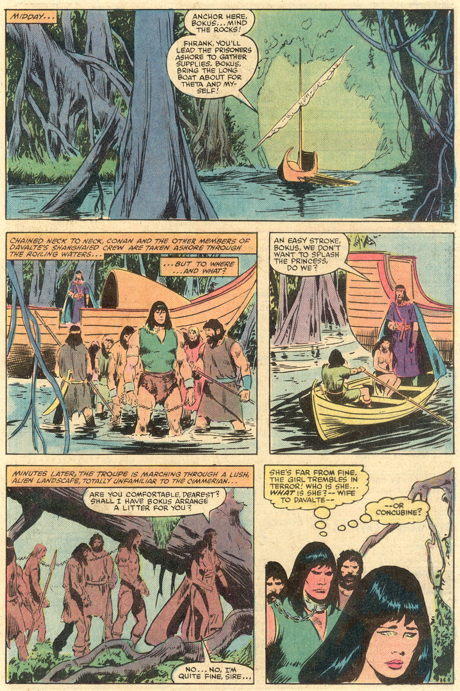 Conan the Barbarian (1970) Issue #140 #152 - English 16
