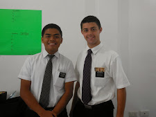 Elder Brock Minson and Elder Racaza