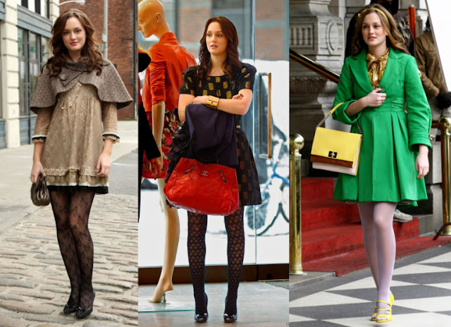 Lets talk about Blair Waldorf The Queen of tights