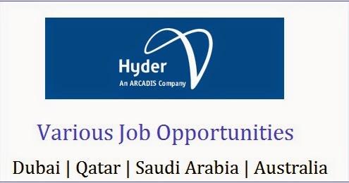 Hyder Consulting Job Openings | Saudi Arabia| Qatar ...