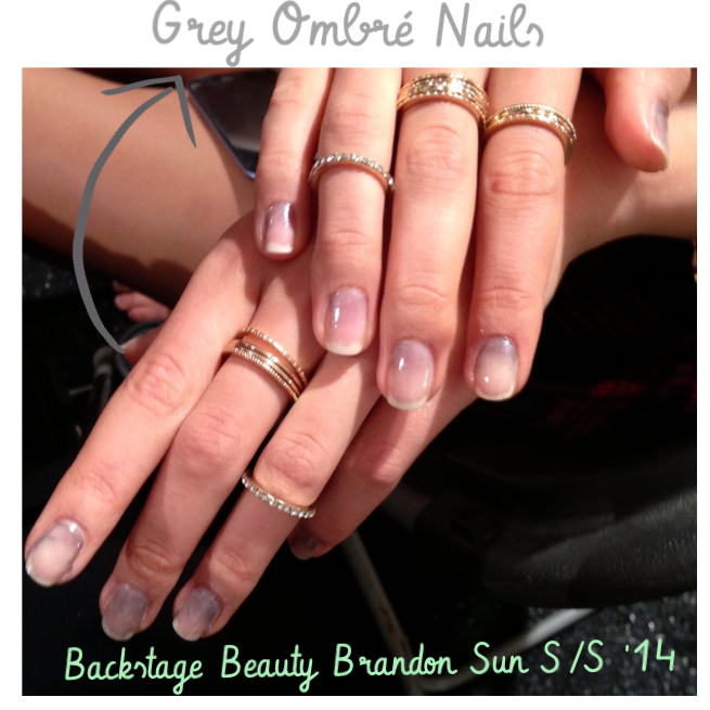 Red Door Spa at NYFW - Brandon Sun Spring 2014 Collection | The Nail ...